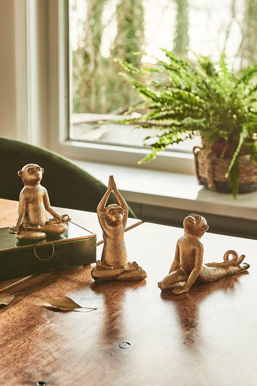 Shop The Look Namaste Namaste Yogaaffen Gold Shopthelook