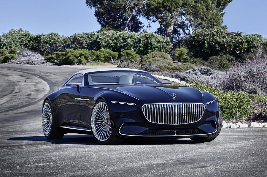 Electric powered MercedesMaybach 6 Cabriolet revealed