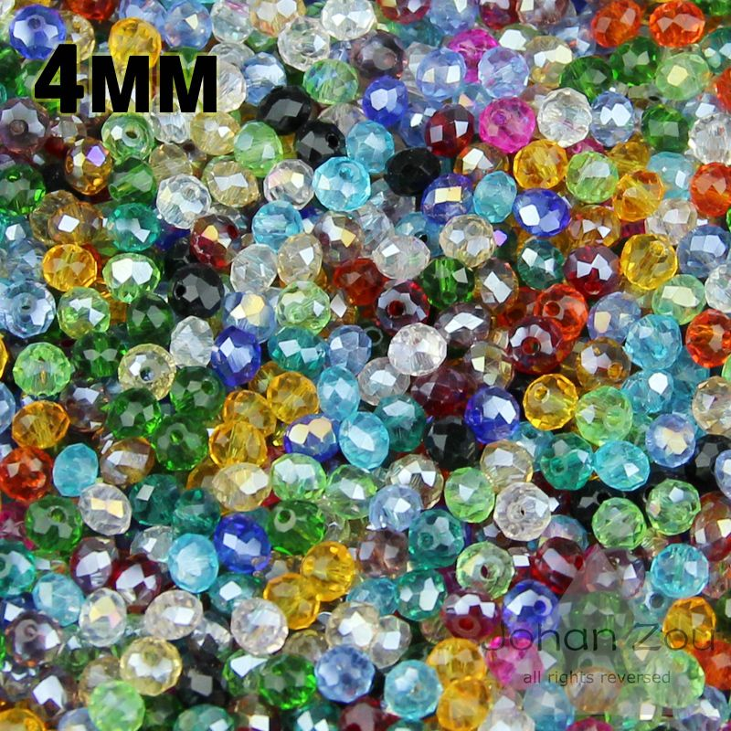10 strds Magnifique à Facettes Perles De Verre Ronde Loose Beads Spacer Perles Craft 8 mm