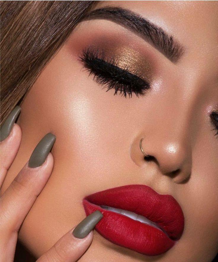 Photo of iluvsarahii colourpop sammlung, makeup tutorial, latinas, bronze eye makeup, r …   #bronzey…