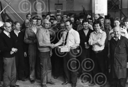 Thomas Tait Paper Mill. Inverurie Paper Mill. SERVICE: Storekeeper James Morrison retires from Tait Paper Mills after 48 years working for the company