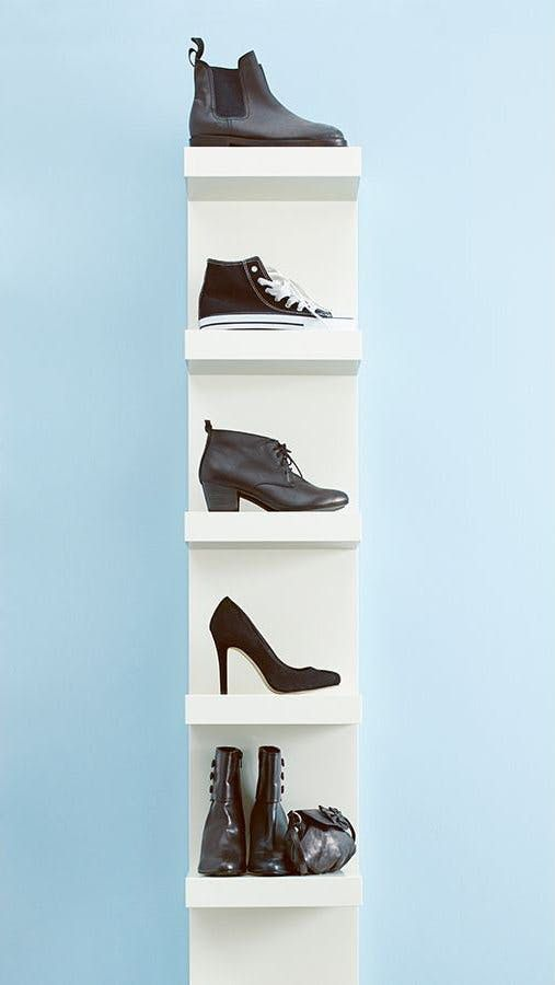 8 IKEA Products Cleverly Repurposed As Shoe Storage