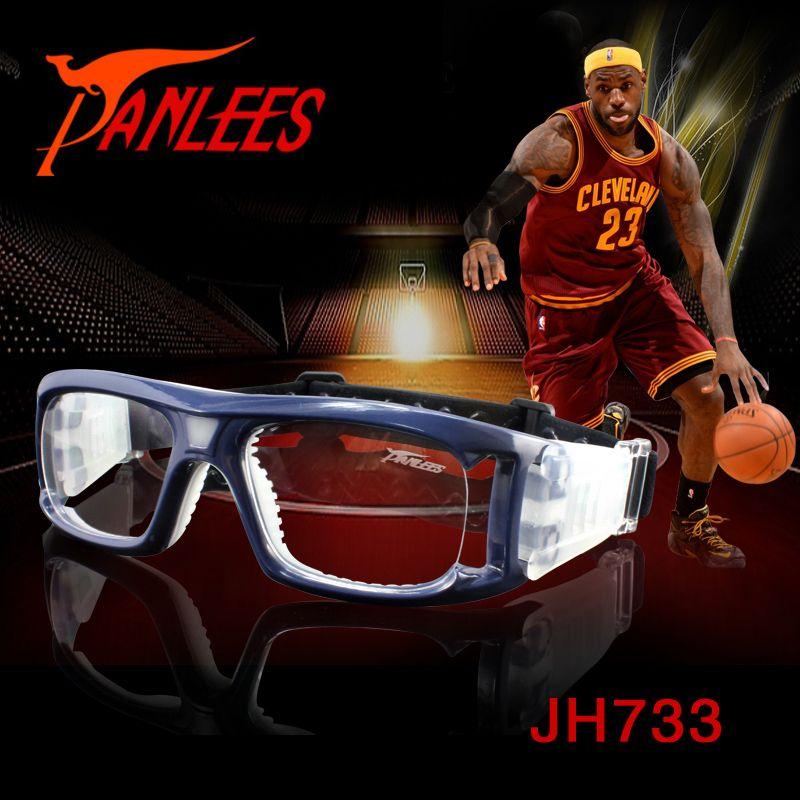 bc1260d492 Anti Skid Basketball Spectacle Matched Optical Lens Prescription  Transparent Lens Tennis Volleyball Men Women Sports Eyewear