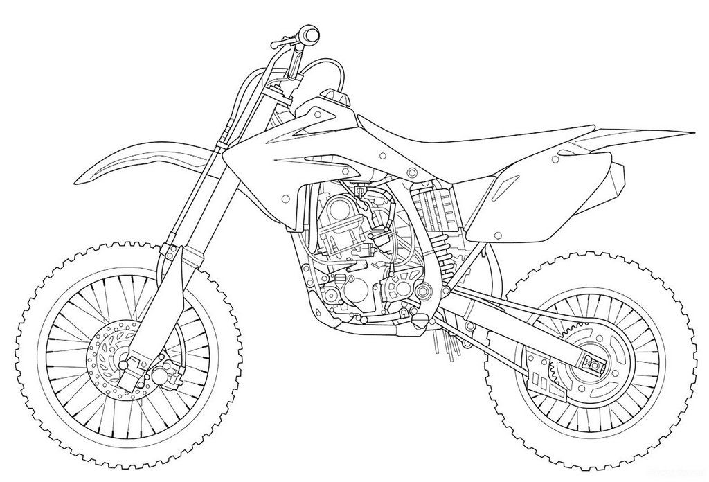 Kawasaki Dirt Bike Coloring Pages For Boys Bear Coloring Pages Spiderman Coloring Coloring Pages For Boys