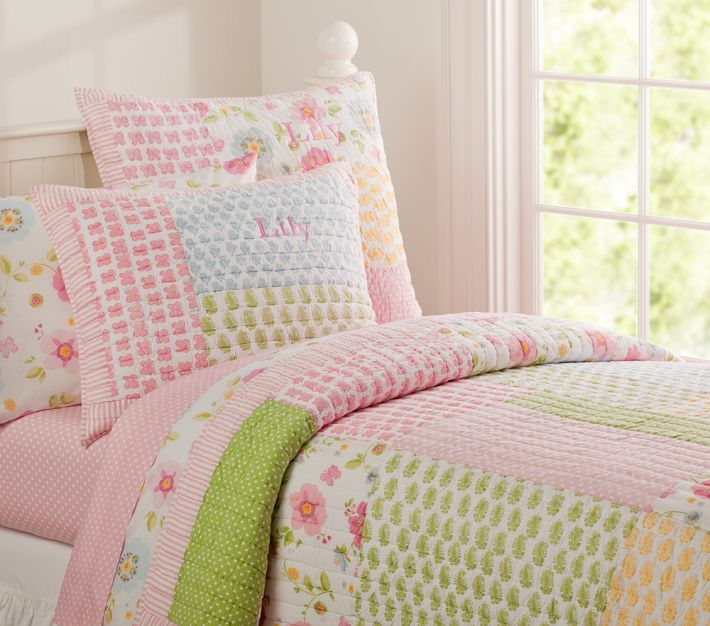 Pottery Barn Quilt Kids Google Search With Images Girl Room