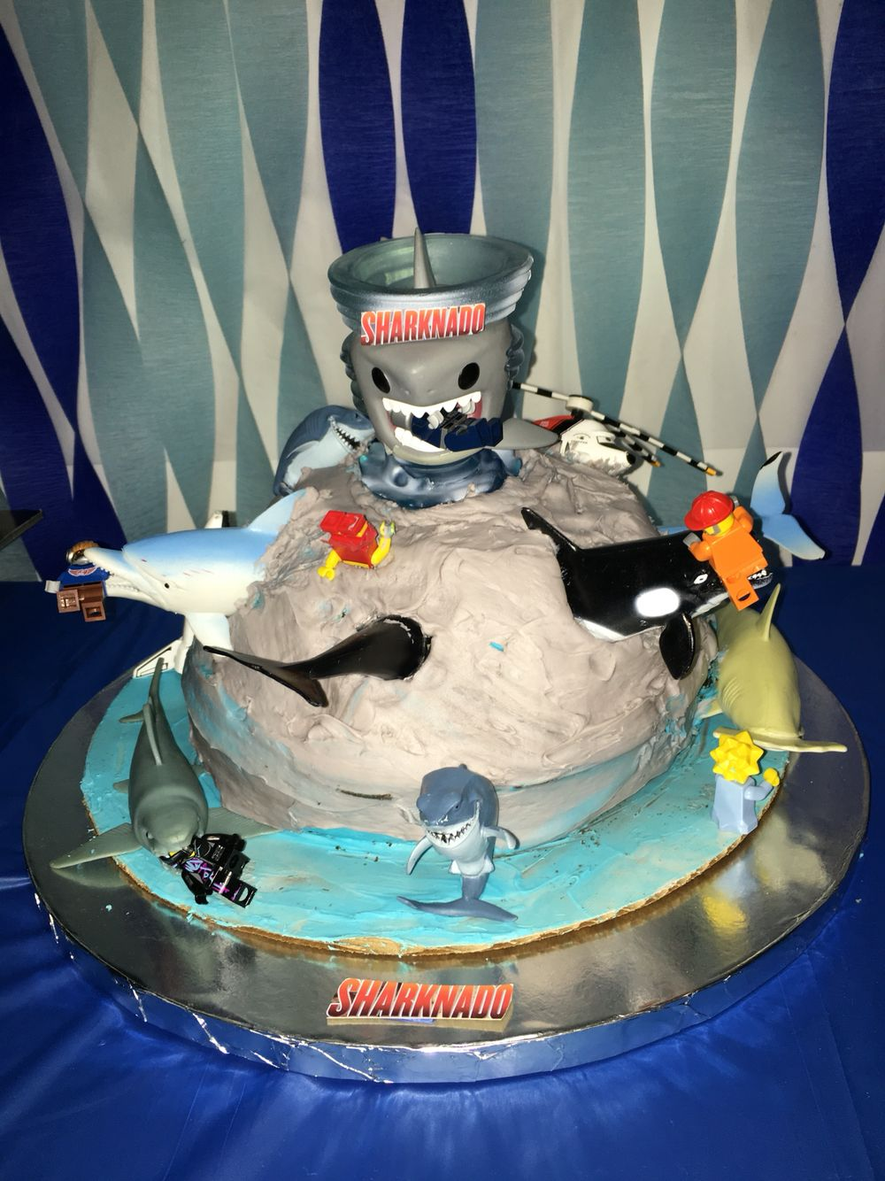 Sharknado Cake Sharknado Party Sharknado