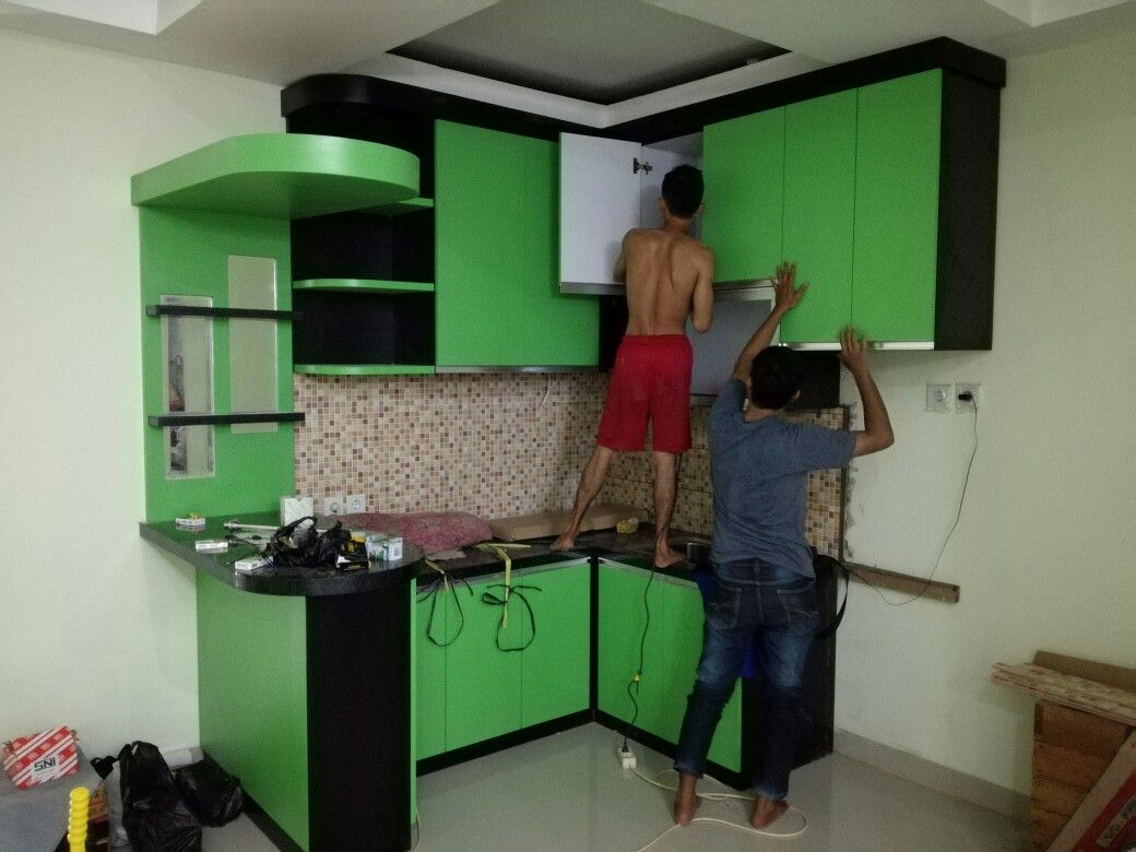 Order Kitchen Set Minibar Bers Solution Interior Balikpapan