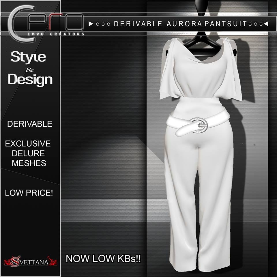 Sx Drv Aurora Pantsuit For More Information Visit Http Imvucpro Blogspot It Sims 4 Mods Pantsuit Sims 4 Cc