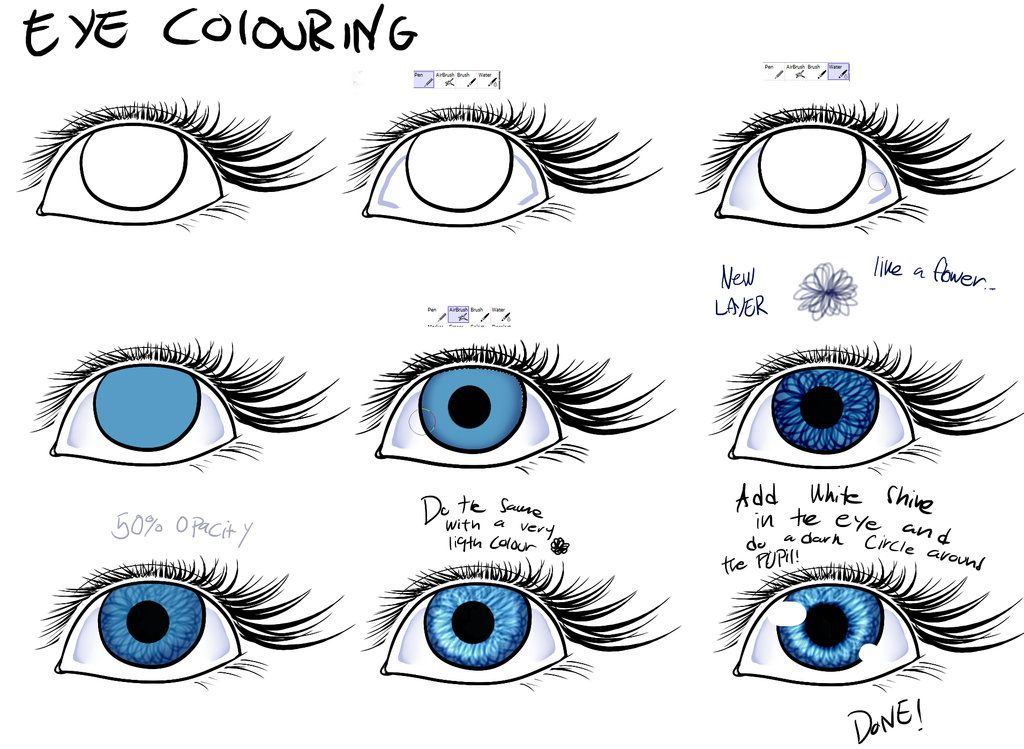 Easy way to colour eyes easy paint tool sai by poka sorm draw easy way to colour eyes easy paint tool sai by poka sorm ccuart Images