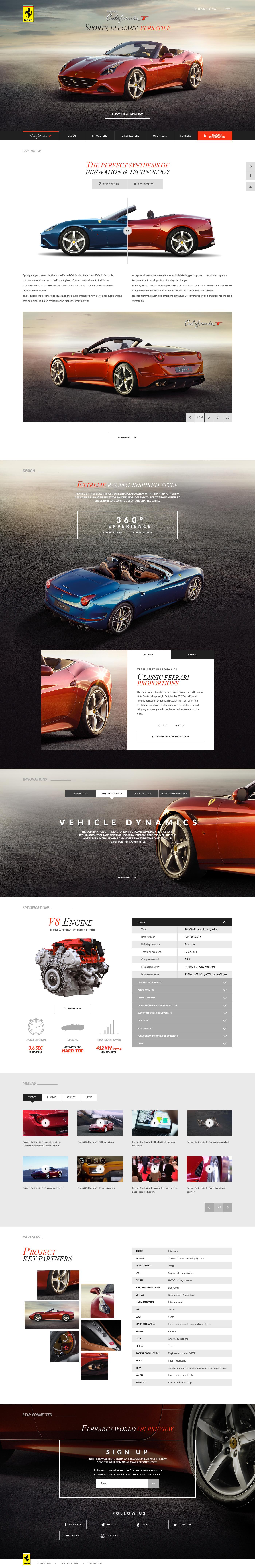 Ferrari California T Ferrari California T Ferrari California Web Inspiration