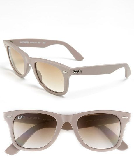 b94aa986ae7 Ray-ban Gray Classic Wayfarer 50mm Sunglasses