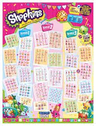 graphic about Printable Shopkins List titled shopkins listing period 3 pdf - Google Glimpse print