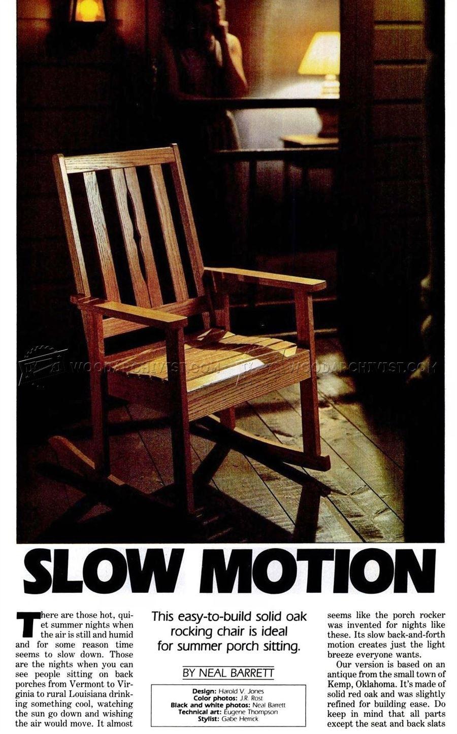 Groovy Solid Oak Rocking Chair Plans Furniture Plans Woodwork Ibusinesslaw Wood Chair Design Ideas Ibusinesslaworg