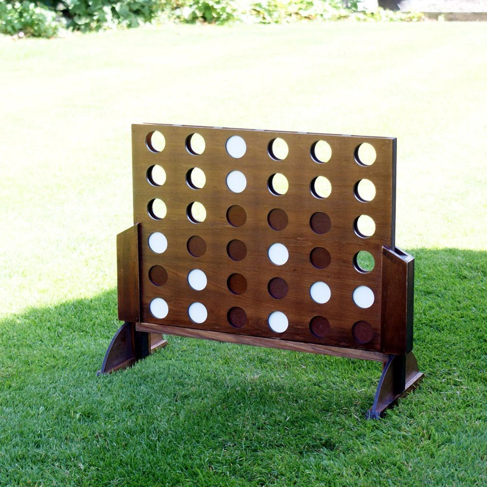 25 Giant Wooden Connect 4 Line Up In A Row Garden Lawn Family Party Bbq Large Game Family Parties Rustic Card Box Wedding White Wedding Table Setting
