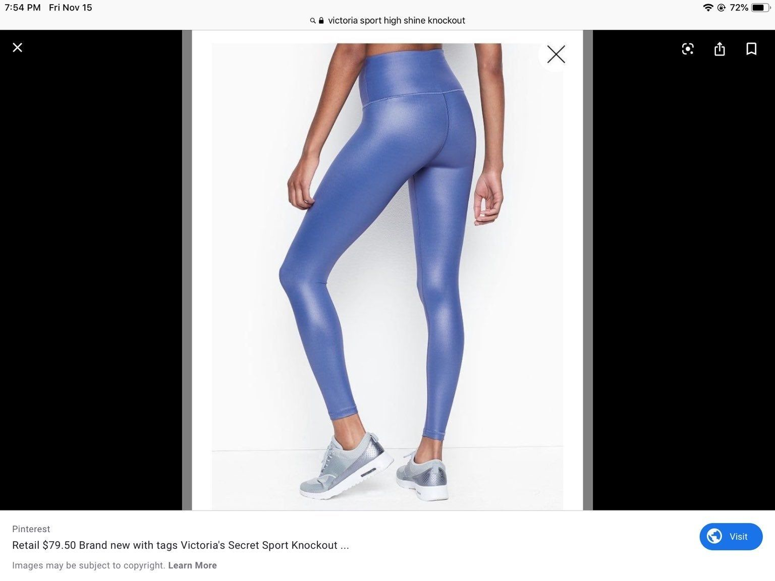 shine!!! New without tags. Knockout leggings