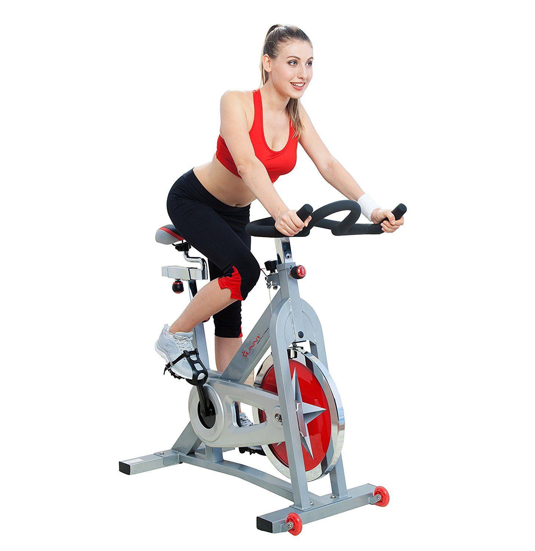 Amazon Com Sunny Health Fitness Pro Indoor Cycling Bike