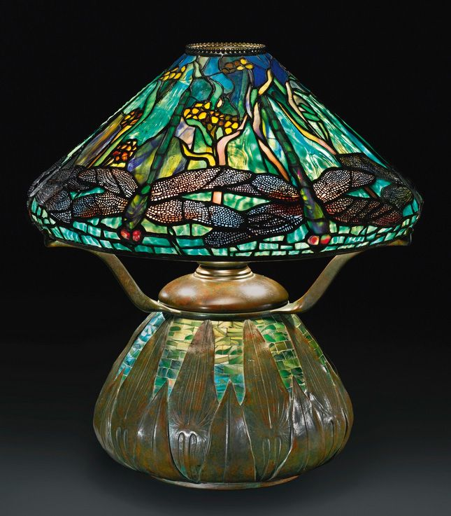 tiffany dragonfly lamp original