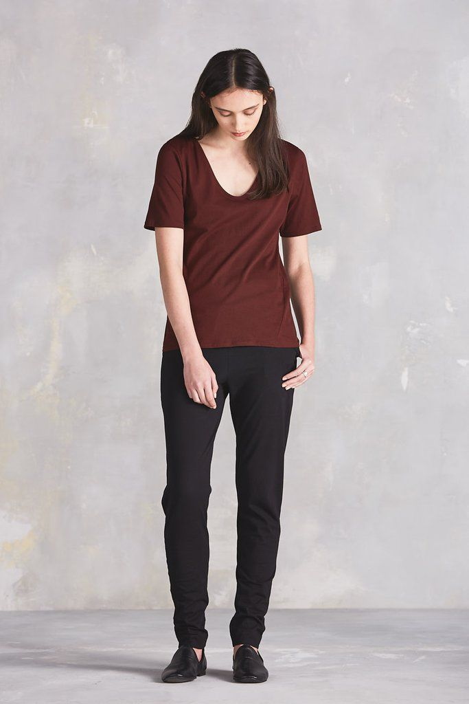 87c6559f81eb Slim fit pant with front pleats