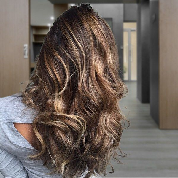Brown Hair With Caramel Tips LONG HAIRSTYLES Of Caramel ...