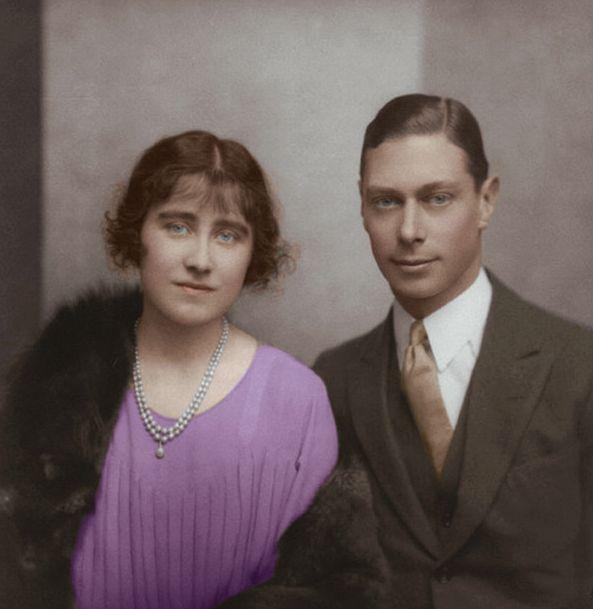 Elizabeth Bowes Lyon Duke Of York Married In 1923 Had 2 Children Queen Elizabeth Ii B 1926 Margaret Coun Queen Elizabeth Lady Elizabeth British Royalty