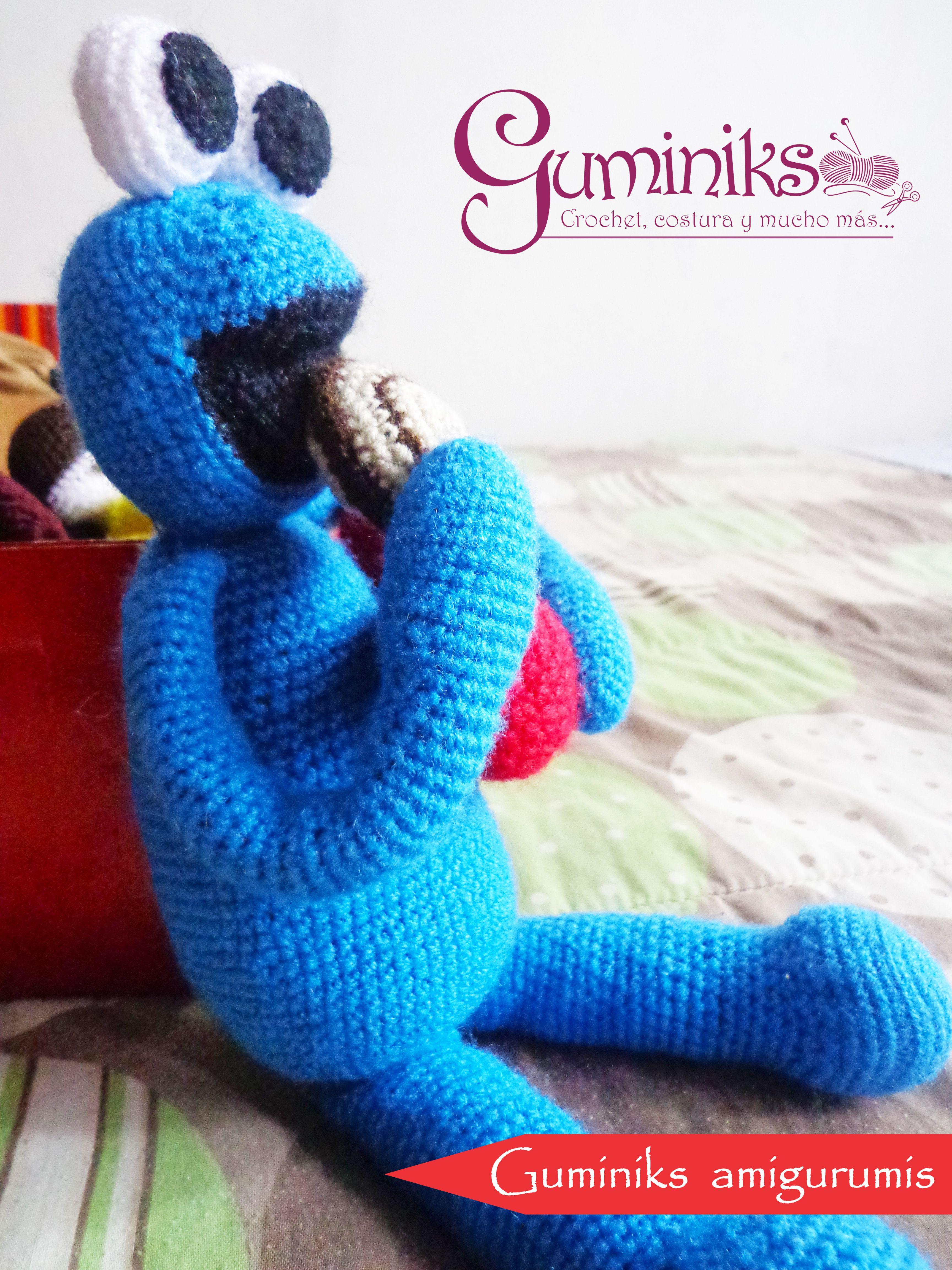 Patrón Monstruo Come Galletas | crochet | Pinterest | Libros para ...