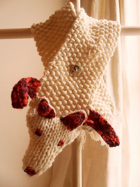 Faux Fox Fur Scarf Pattern By Zoe Woods Knitting Crochet Needle