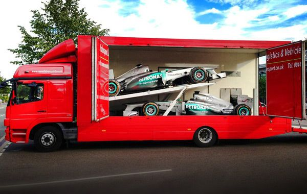 rally car transport