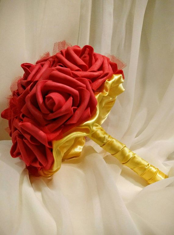 Disneys Beauty and the Beast / Belle inspired Bouquets for ...