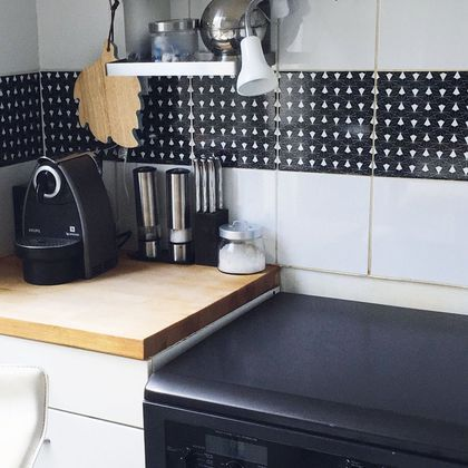 Carrelage Adhésif Cuisine | Carrelage Adhesif Une Renovation Facile Carrelage Adhesif