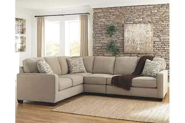 Alenya 3-Piece Sectional by Ashley HomeStore, Tan | Big Bear home ...