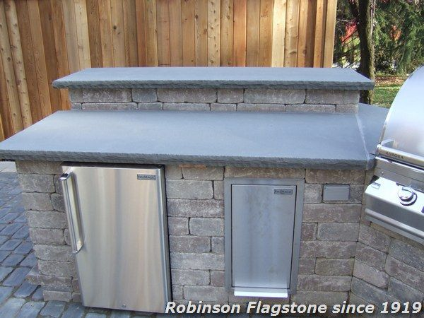 Delightful Robinson Flagstone | Treads, Coping, Wall Caps, Countertops, Etc.   Robinson