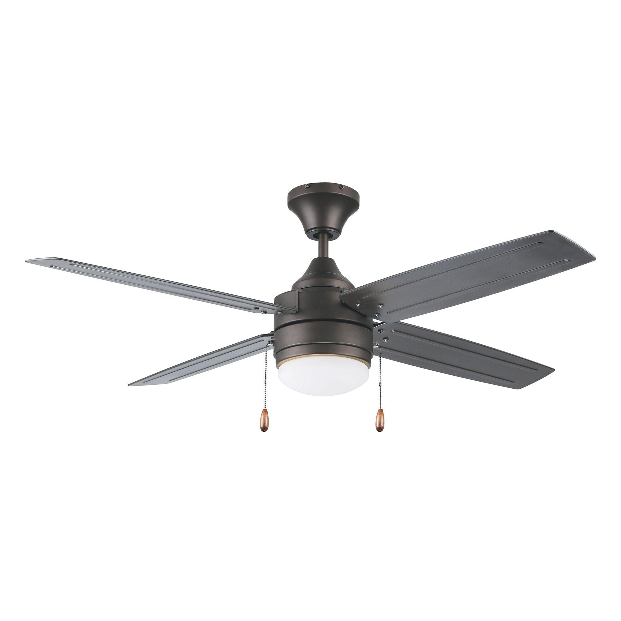 Litex Aikman 52 In Led Ceiling Fan 4 Blade Light Kit Dimmable Indoor Outdoor In Oil Rubbed Bronze Ceiling Fan Bronze Ceiling Fan Led Ceiling Fan