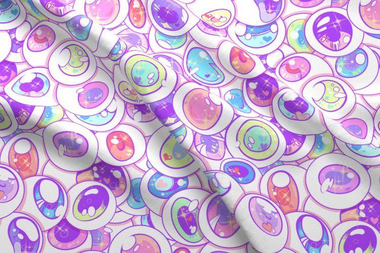 31++ Anime print cotton fabric ideas