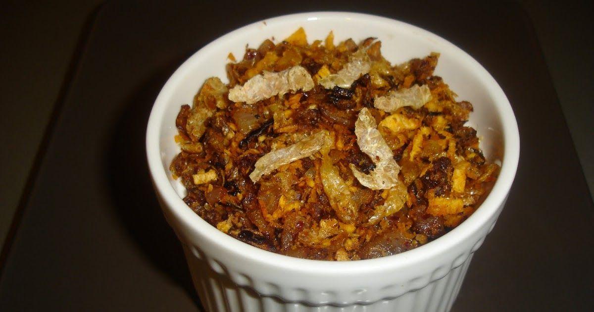 Dry prawns chutney with images fish recipes chutney food