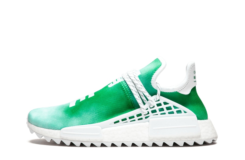 Pharrell x Adidas NMD Hu (Green, YOUTH