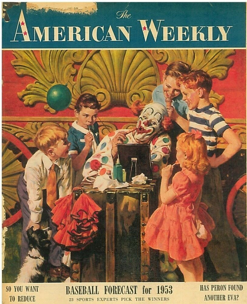American weekly magazine april 12 1953 william holden
