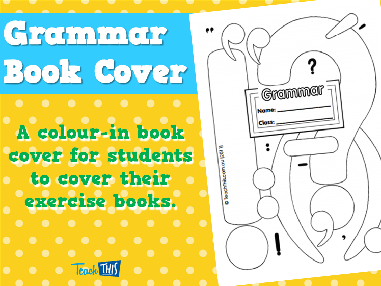 Grammar - Book Cover | Book Cover | Pinterest | Grammar ...