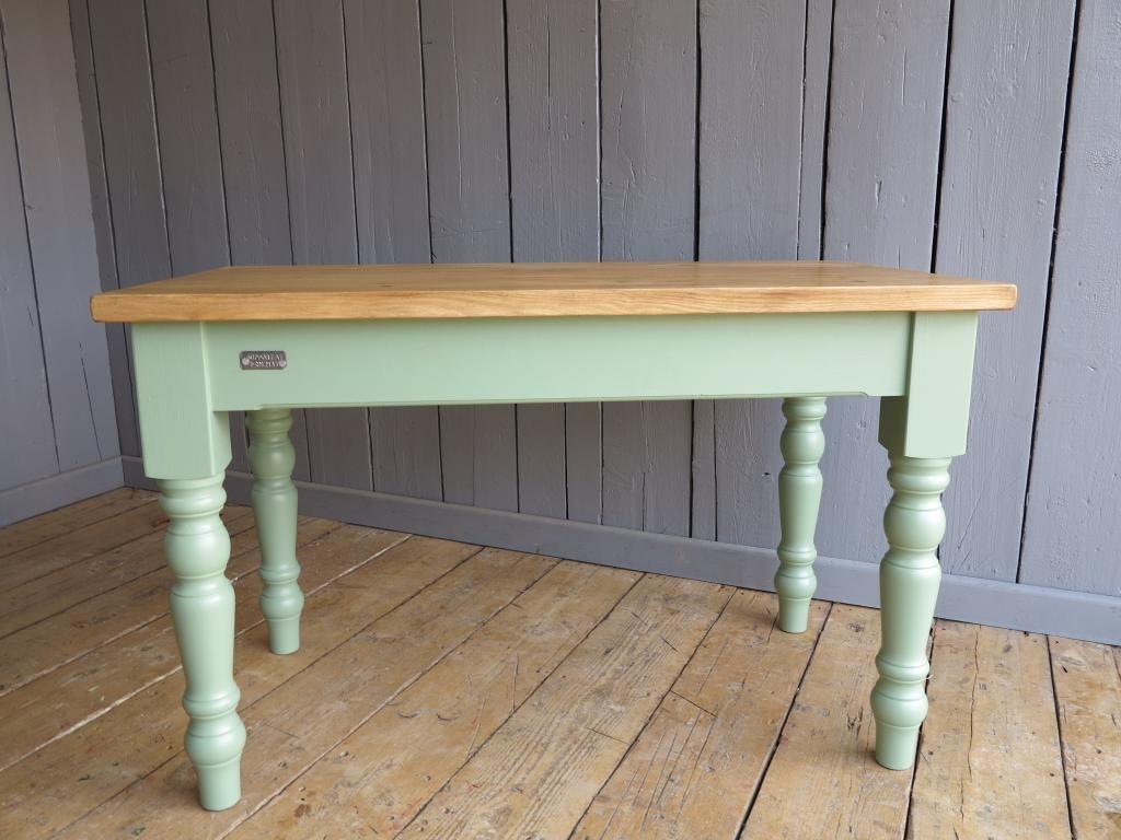 Plank Top Farmhouse Table