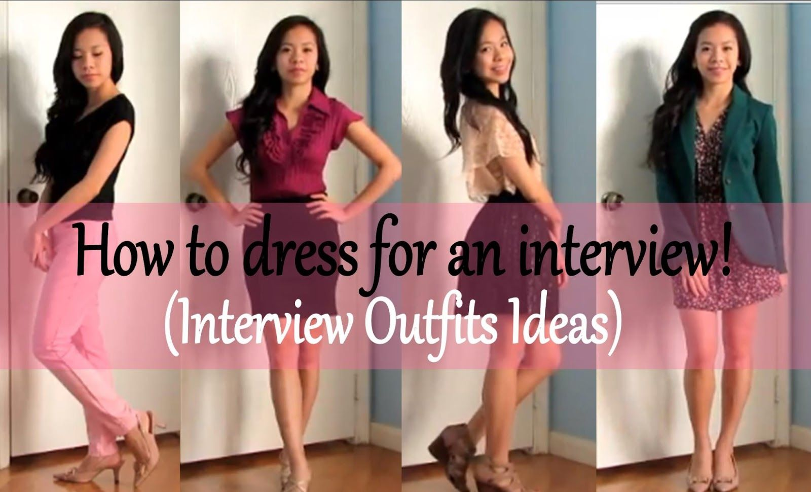 How to Dress for an Interview Video is up!!!  Interview dress