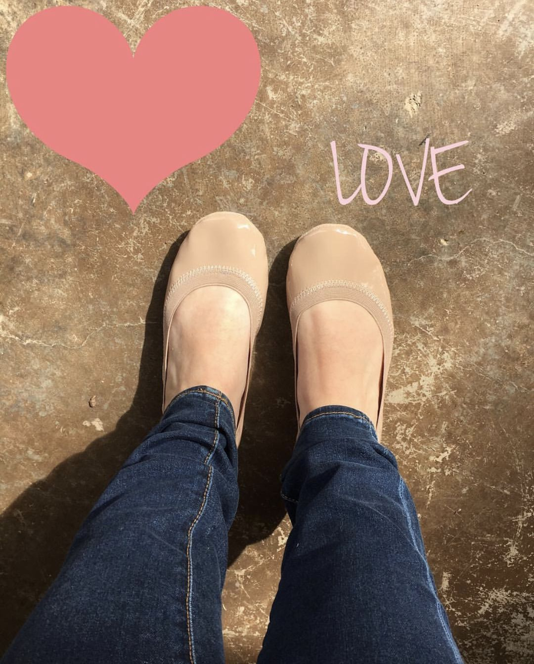 242f3f80f75 Love is in the air ❤ The Samara Soft Patent Leather in Nude