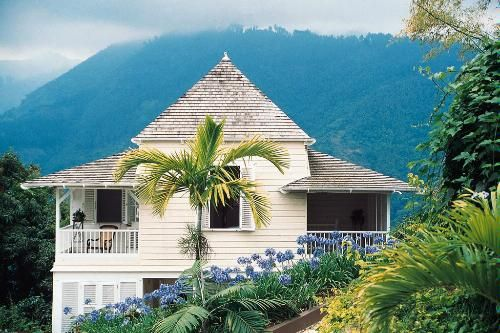 Strawberry Hill in the Blue Mountains, Jamaica.