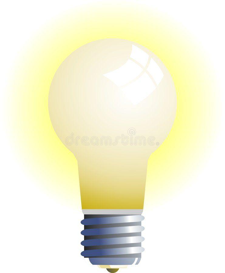 Light Bulb Simple Glowing Light Bulb Illustration Affiliate Simple Bulb Light Glowing Illustration Ad Light Bulb Bulb Light Bulb Illustration