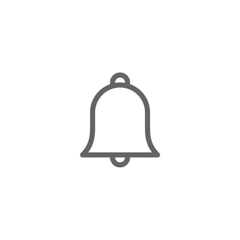 Notification Icon Design Notification Bell Ring Alarm Doorbell Icon Logo Notification Icon Design Notification Ring Logo Youtube Logo Bell Logo
