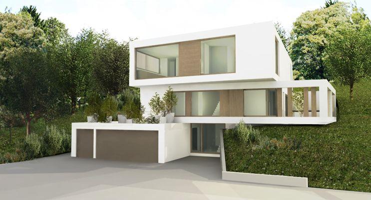 haus am hang einrichten und wohnen pinterest architektur h uschen. Black Bedroom Furniture Sets. Home Design Ideas