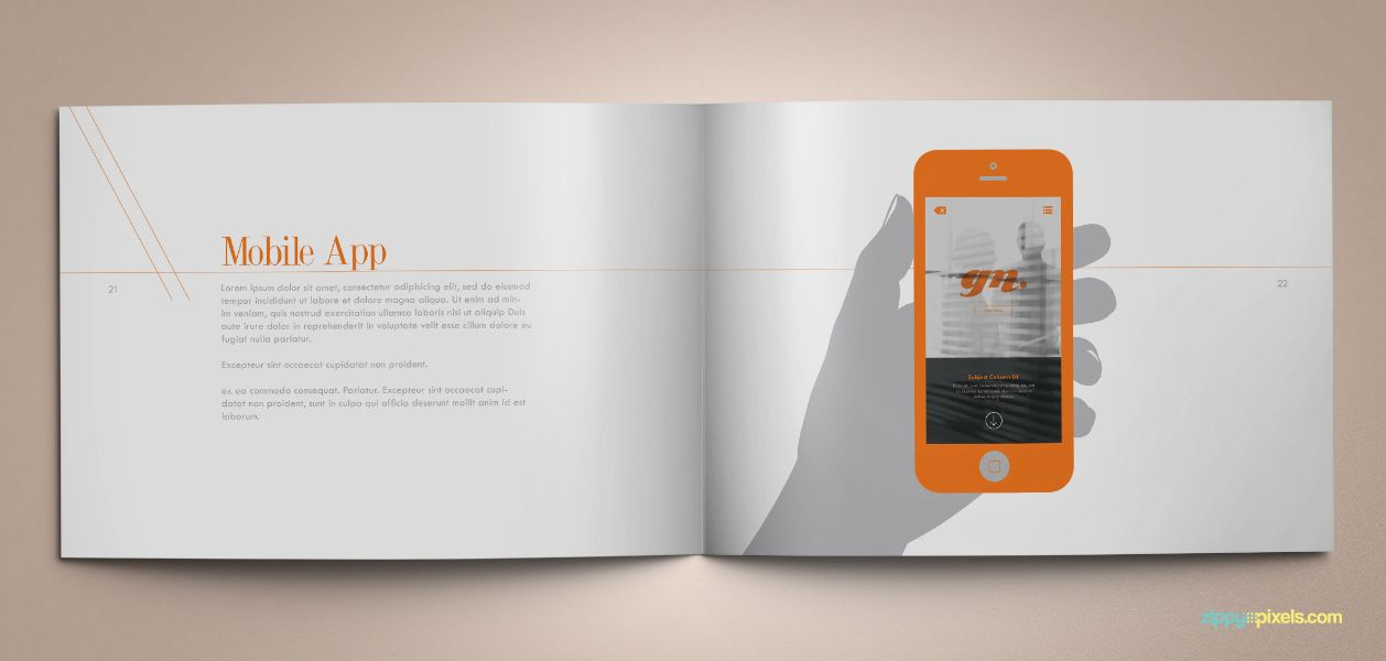 Download Professional Brand Guidelines Brandbook Template ...