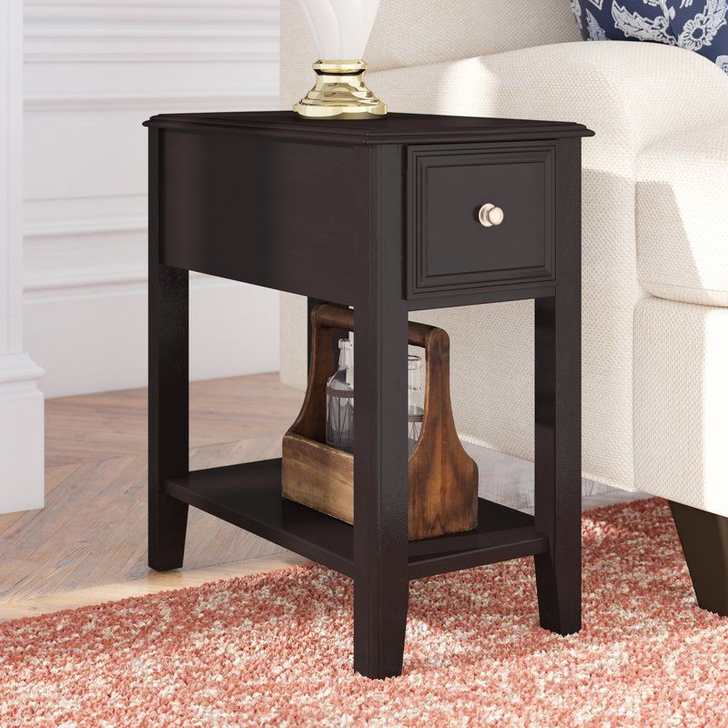 Highest Quality Hancock End Table With Storage By Mercury Row Coffee Table With Storage End Tables With Storage Home Furniture Online