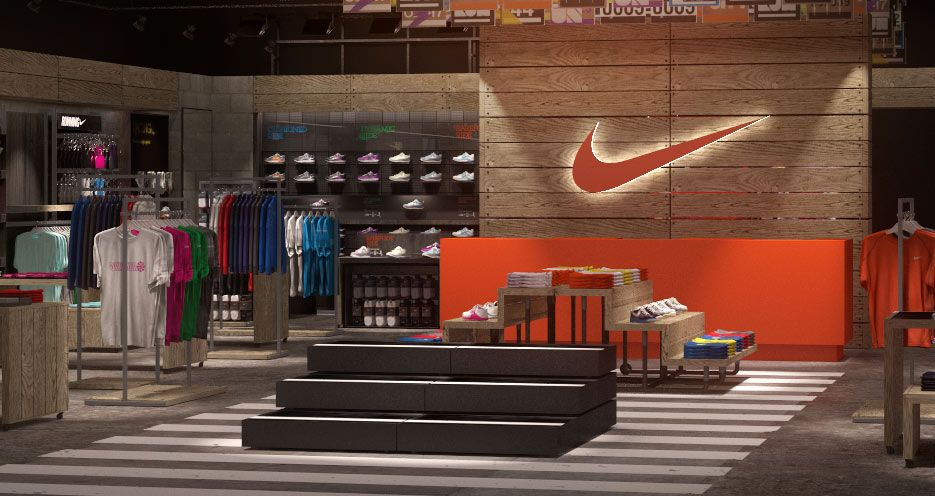 a little place i like to call... heaven. Nike retail
