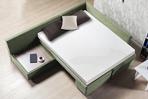 Zinus Cool Gel Memory Foam 5 Inch Sleeper Sofa Mattress Replacement Bed Queen