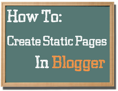 Create Static Pages