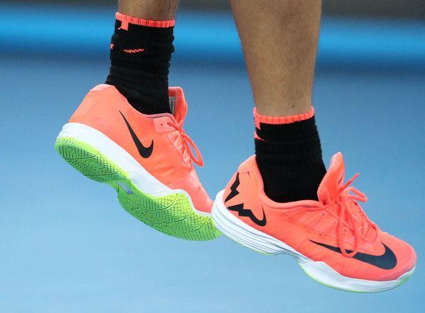 Rafael Nadal Photos Photos 2017 Australian Open Day 4 Custom Nike Shoes Nike Shoes Blue Nike Shoes Outfits